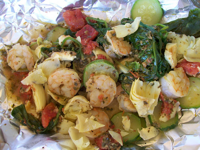 shellfish seafood weight loss healthy camping easy dinners