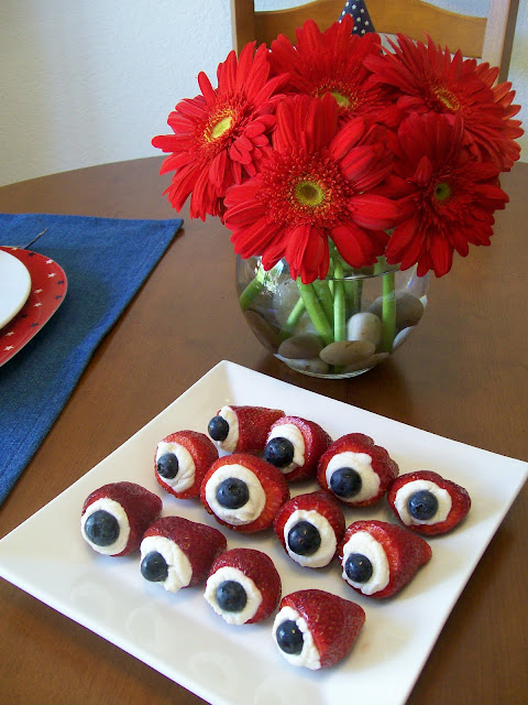 Memorial Day Labor Day Red White & Blue RWB Sugar Free Fruit