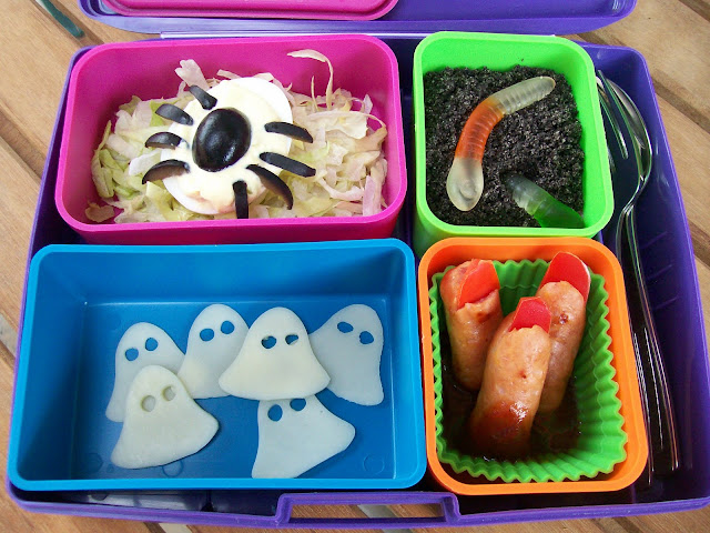 Happy Halloween Lunch Bento Lunchbox