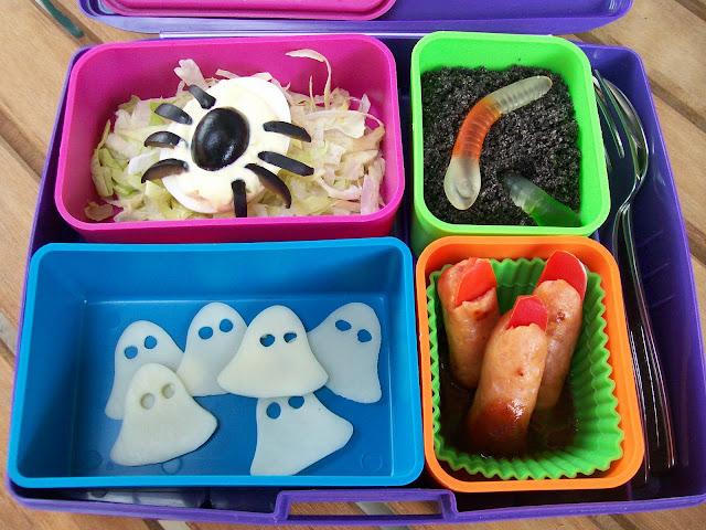 Happy Halloween Lunch Bento Lunchbox