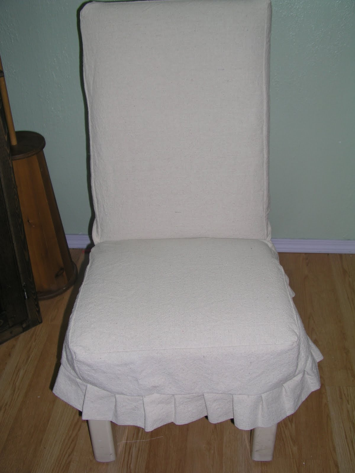 The Copper Tree Home DIY Dining Chair Slipcover
