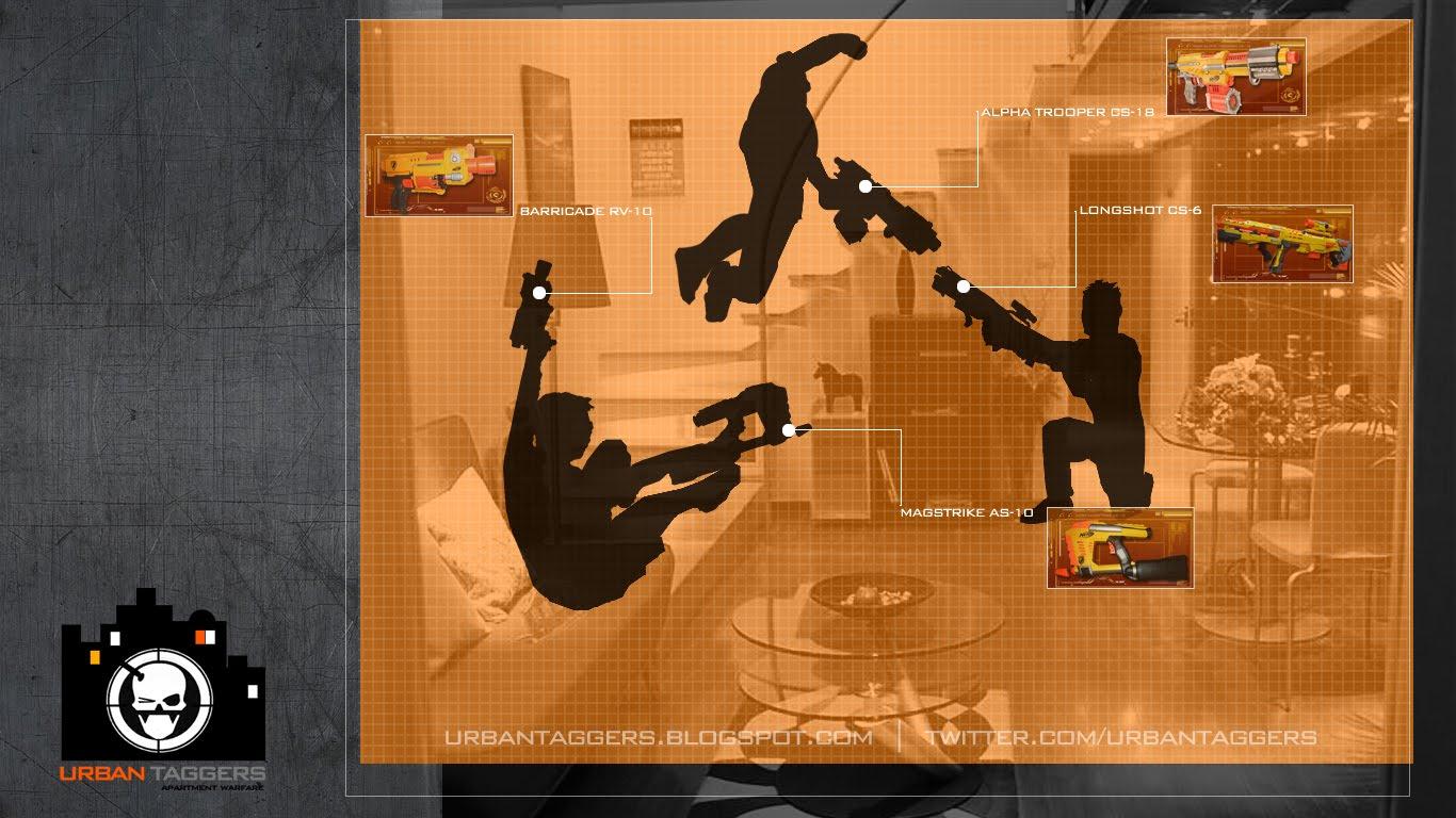 Nerf cammando urban taggers wallpaper - Nerf wallpaper ...