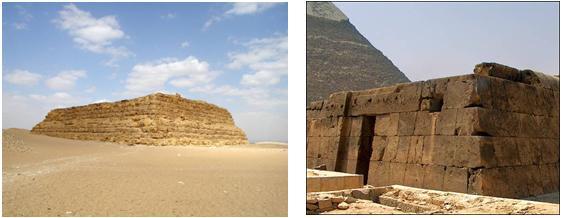 Monumentos funerarios de los egipcios historia del arte for Arquitectura funeraria