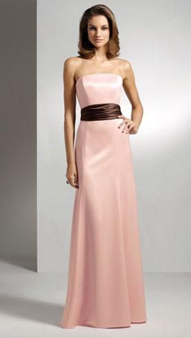 Pink and Chocolate Brown Wedding Theme: Full Length ...