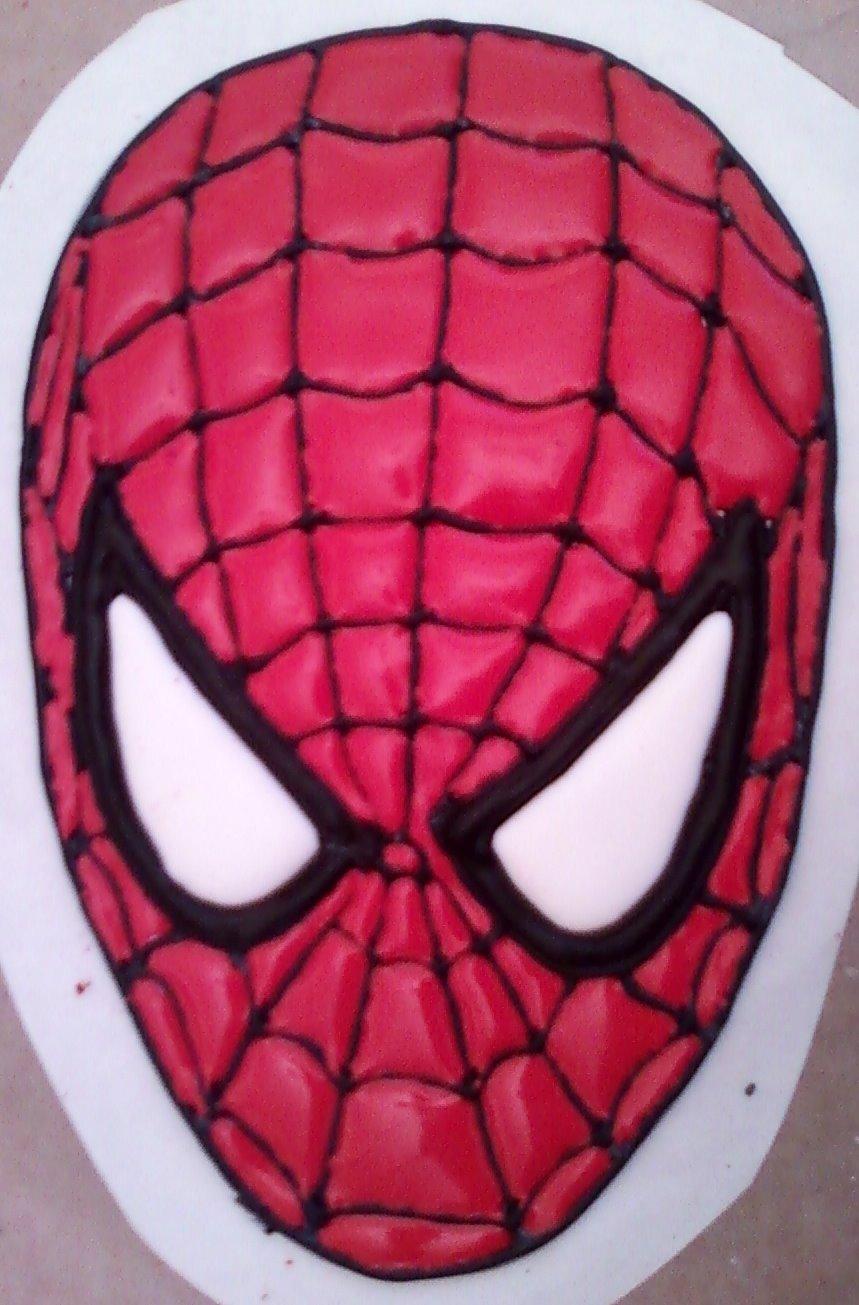 Net S Cake Decorating Spiderman Color Flow Head