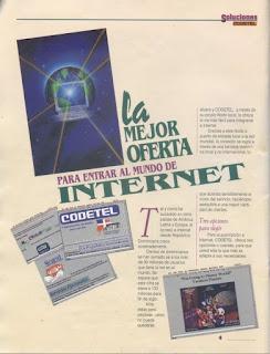 Anuncio de Codetel ofreciendo Internet (blog de Mite Nishio)