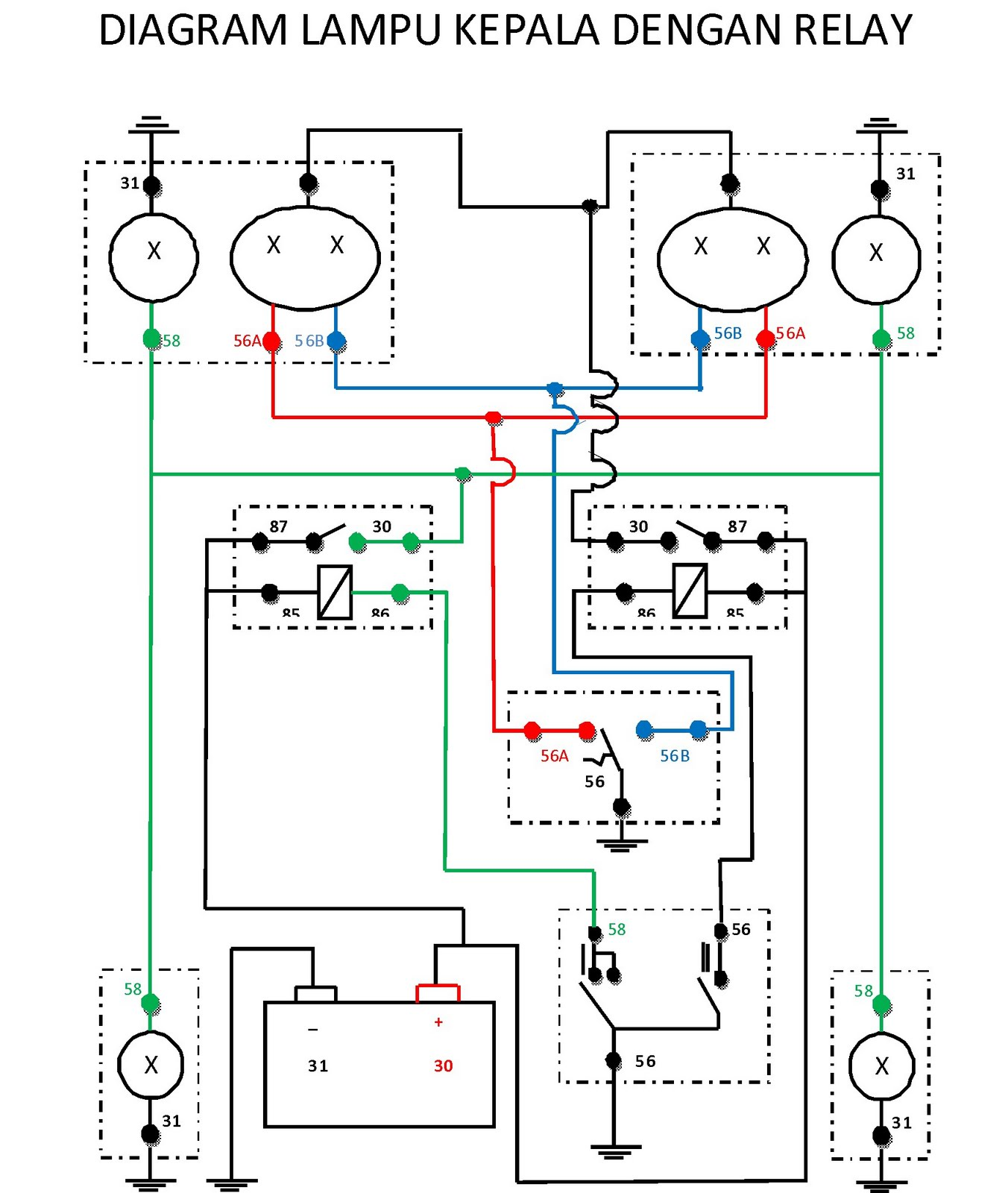 Diagram Wiring Diagram Lampu Full Version Hd Quality Diagram Lampu Doorbellwiring Lexanesirac Fr
