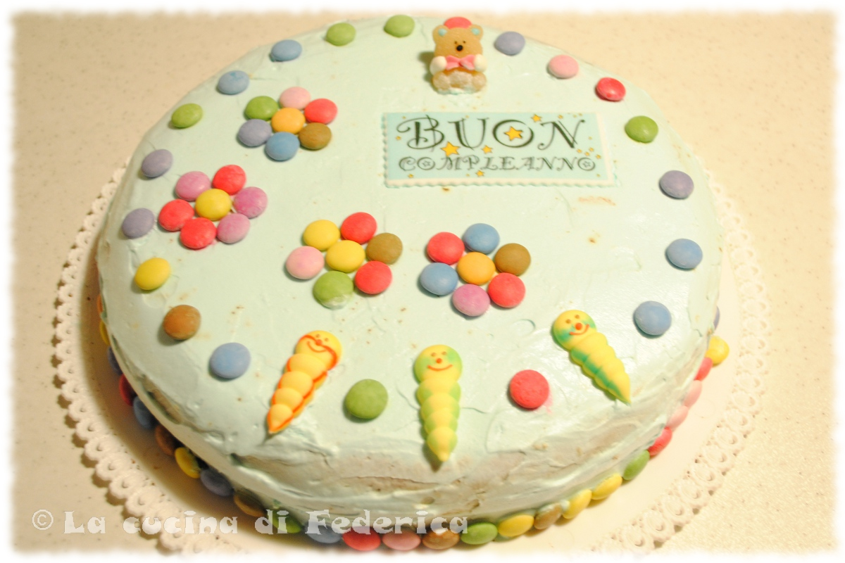 Molto La cucina di Federica: Torta di compleanno per Giacomo RM99