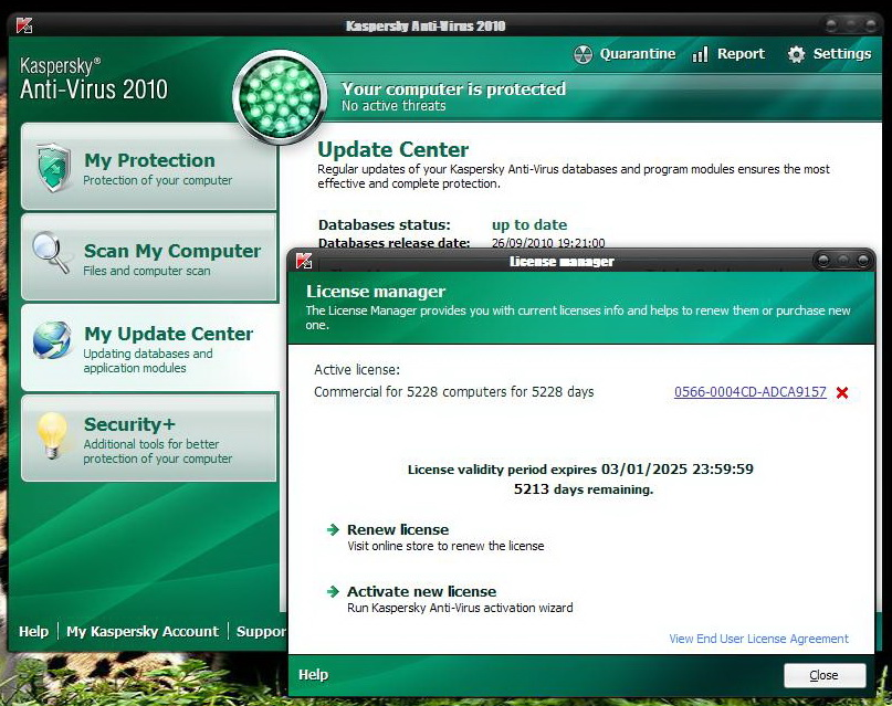 Kaspersky Antivirus 2010 Free Download For Pc | blogpc