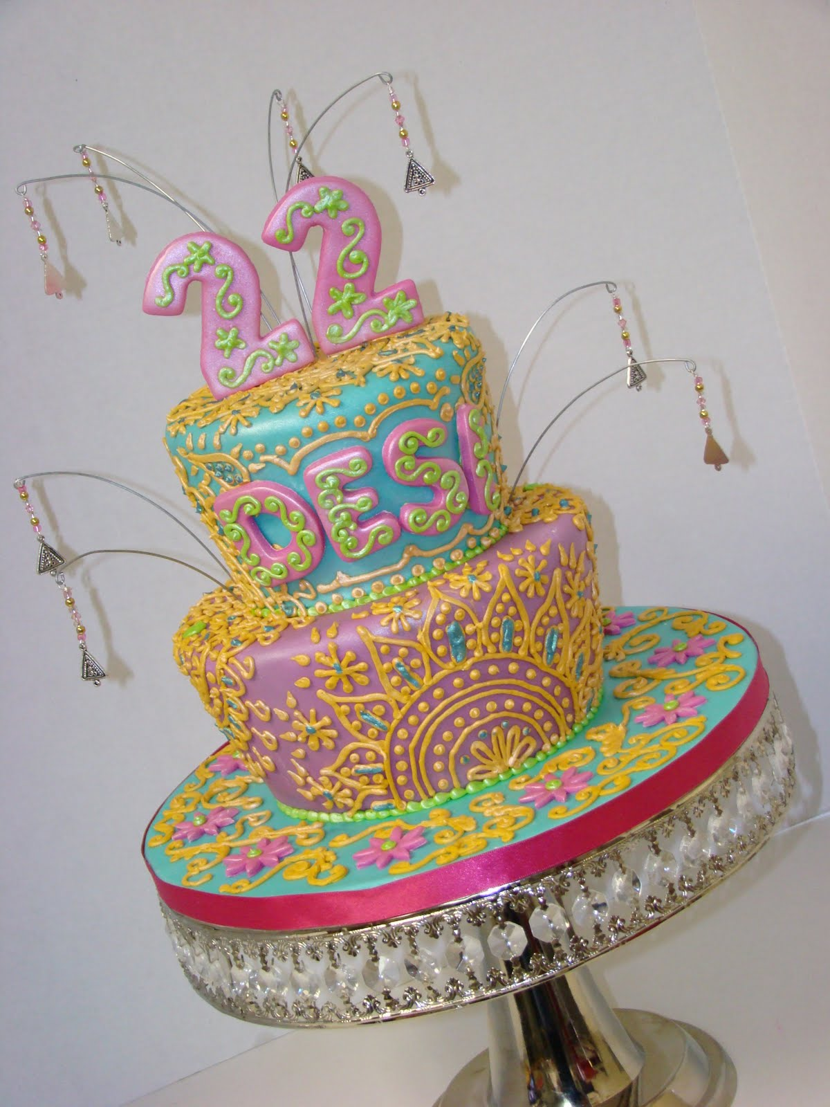 Sweet Cakes By Rebecca Rock The Kasbah 22nd Birthday Cake
