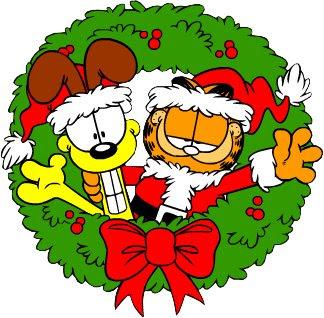 Navidad garfield imagenes predise adas clipart trato - Garfield noel ...