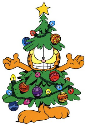 dibujos de Navidad de Garfield