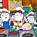 animacion huevos cartoon: preparando la cena de navidad