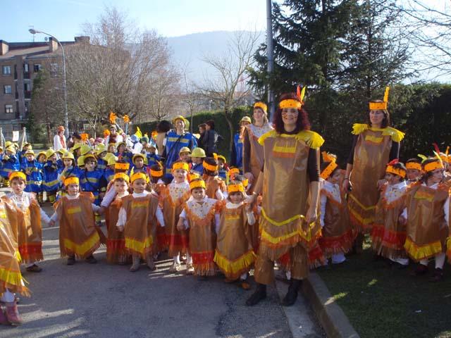 disfraz para escolares: indios