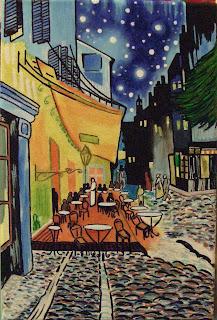 Arti Post Impressionismo Vincent Van Gogh Terrazza Del