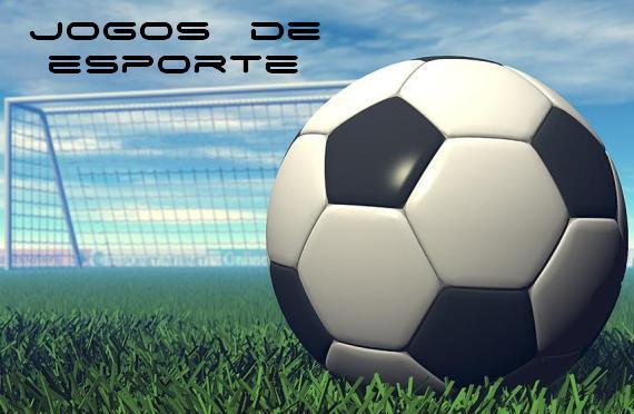 Banner de jogo de futebol