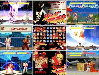 Jogo Street Fighter Mugen