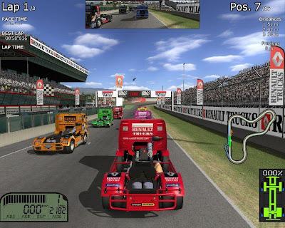 Jogo Renault Truck Racing