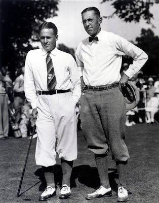 Jones and Ouimet Chilling at the Course: For Free
