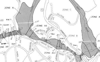NEW FAIRFIELD TOWN HALL: FEMA FLOOD MAPS --- NEW FAIRFIELD, CT