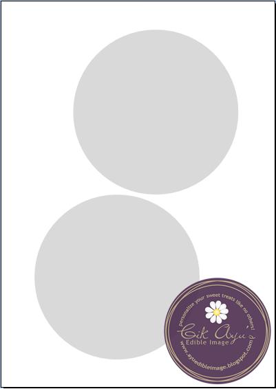 7 inch diameter circle template - cik ayu 39 s edible image ordering templates