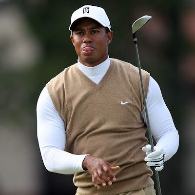 Tiger Woods Golf Sweater
