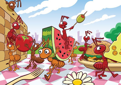 Greg Hardin's Art & Sketch Blog: Picnic Ants