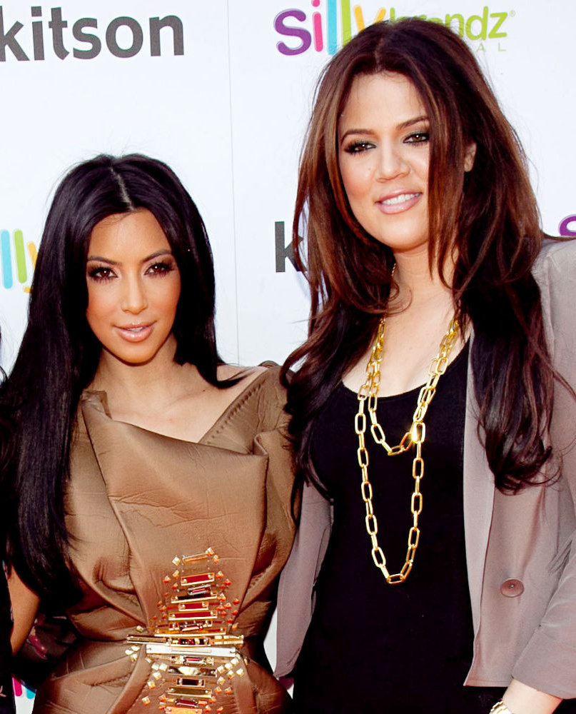 Entertaintment Photos Collection: New Khloe and Kim