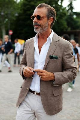 l'uomo più elegante del mondo