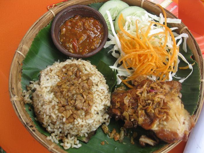 Resep Cara Membuat Nasi Merah Bakar Isi Ayam Kemangi Pedas Spesial