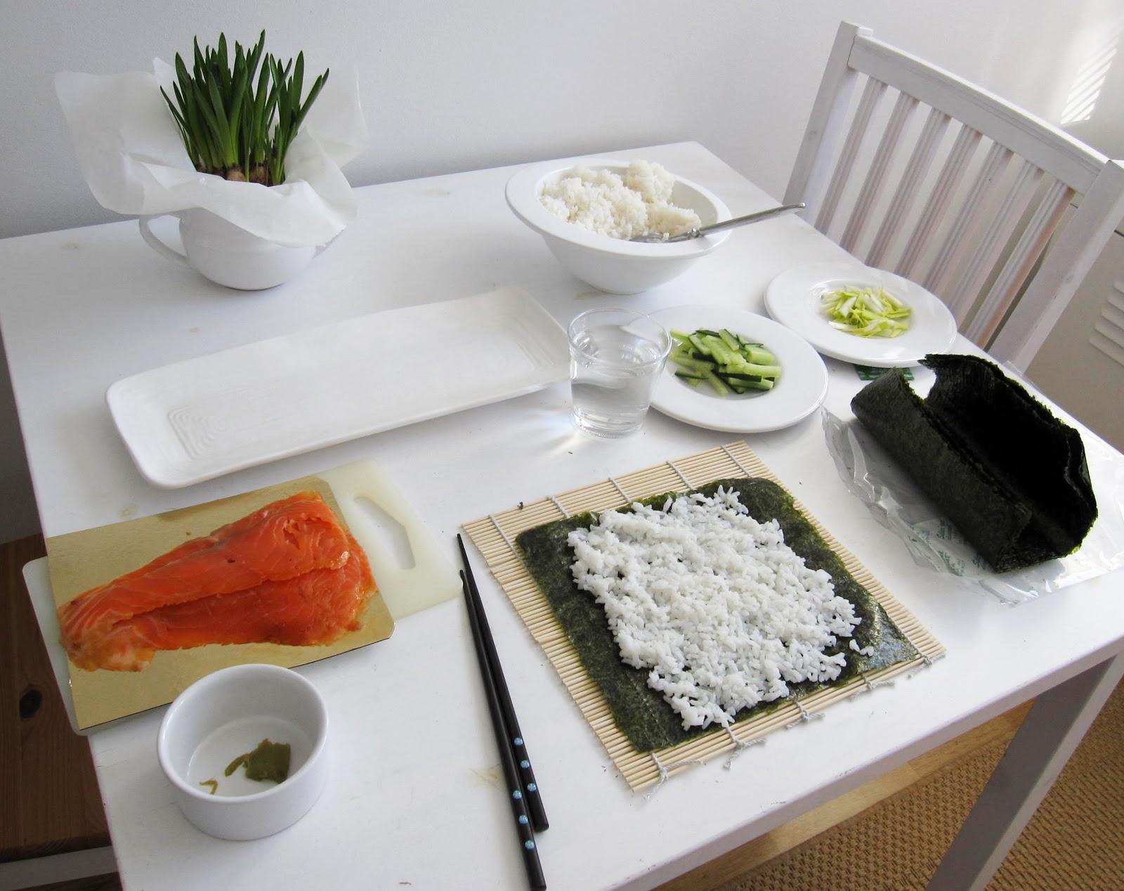 Sushi Ohjeet