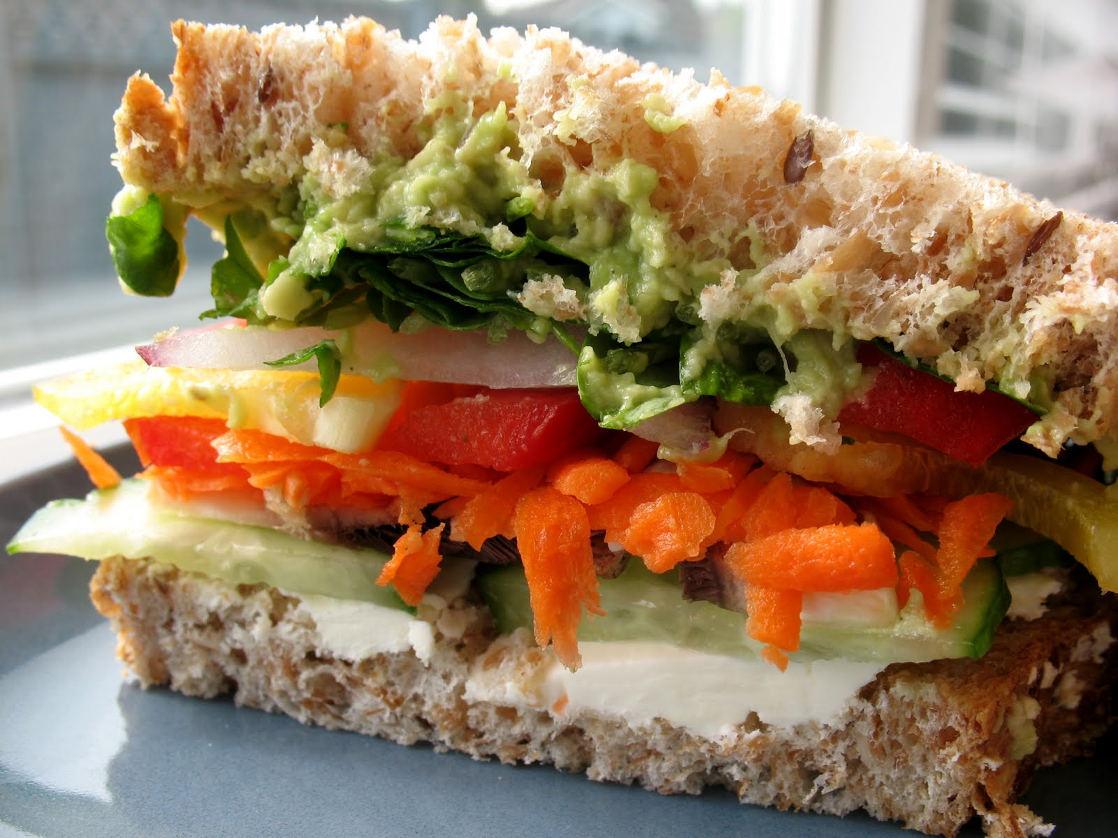 Veggie Lovers Sandwich ~ Chasing Tomatoes