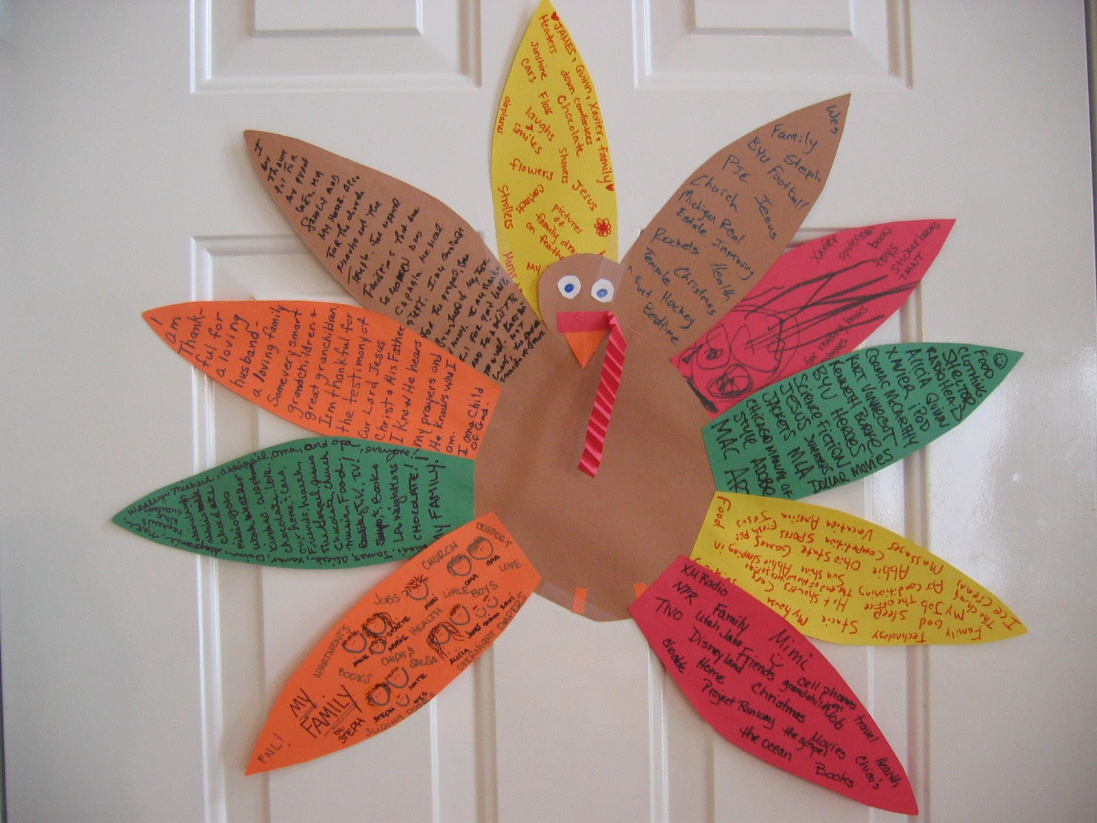 Raised By A Village Thanksgiving Crafts For Every Member