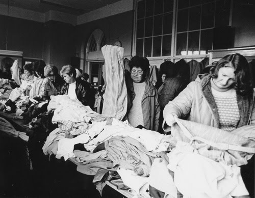 Image result for 1960's jumble sales