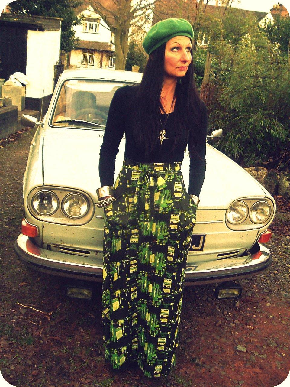 Bollywood retro dress style 1960