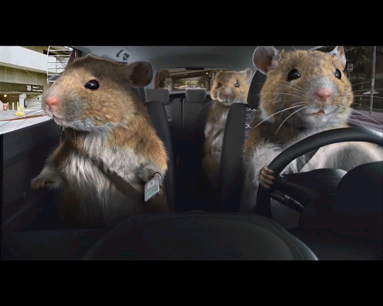 Kia Hamster Commercial >> Under the Hood: I think that Kia has pretty much got this figured out