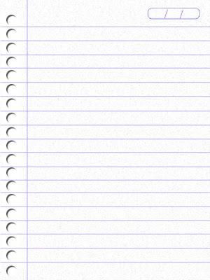 Criando uma folha de caderno  01/02/2019