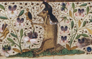 Image result for medieval marginalia pig with hat