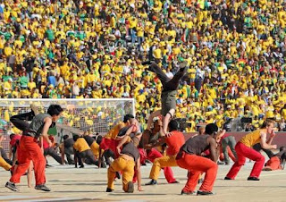 Fifa world cup 2010 opening ceremony photo