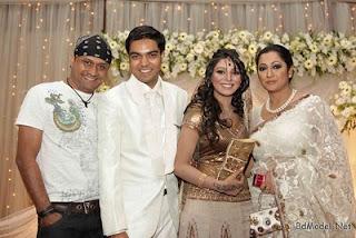 Engagement of model Prova and Rajib singer tutul and Tania