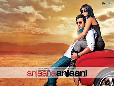 Anjaana Anjaani Bollywood Hindi movie wallpapers, information, review