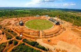 Sri Lanka host 12 ODI match in ICC world cup 2011 Hambantota  venues information