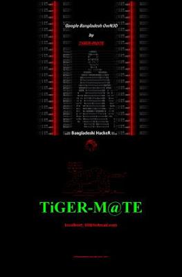 Google.com.bd hacked by Bangladeshi Tiger