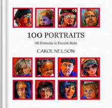 100 Potraits (oil potraits in fauvist style) By CAROL NELSON