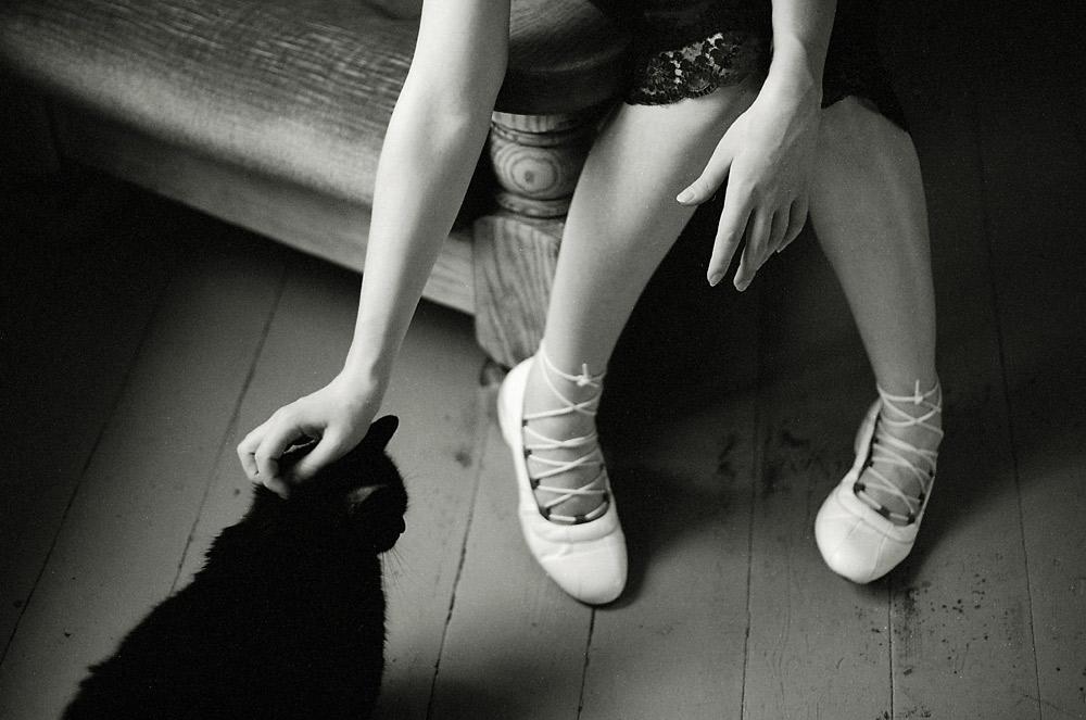 Black Shoes Gum Sole