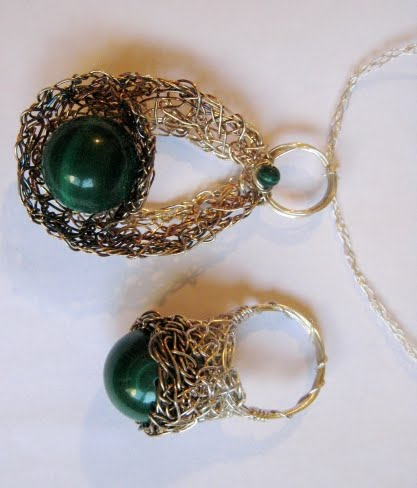 ieftin la reducere la câteva zile distanță design de calitate LuMa-lumea bijuteriilor unicat!: -798- Set din sarma