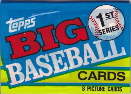 A Pack To Be Named Later 1990 Topps Big Baseball Series 1