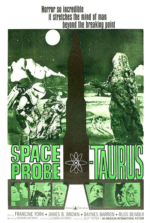 Classic Sci-Fi Movies: Space Probe Taurus