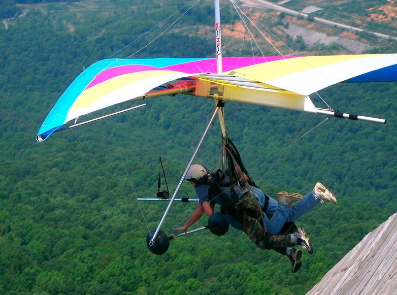Around The Globe: Hang Gliding