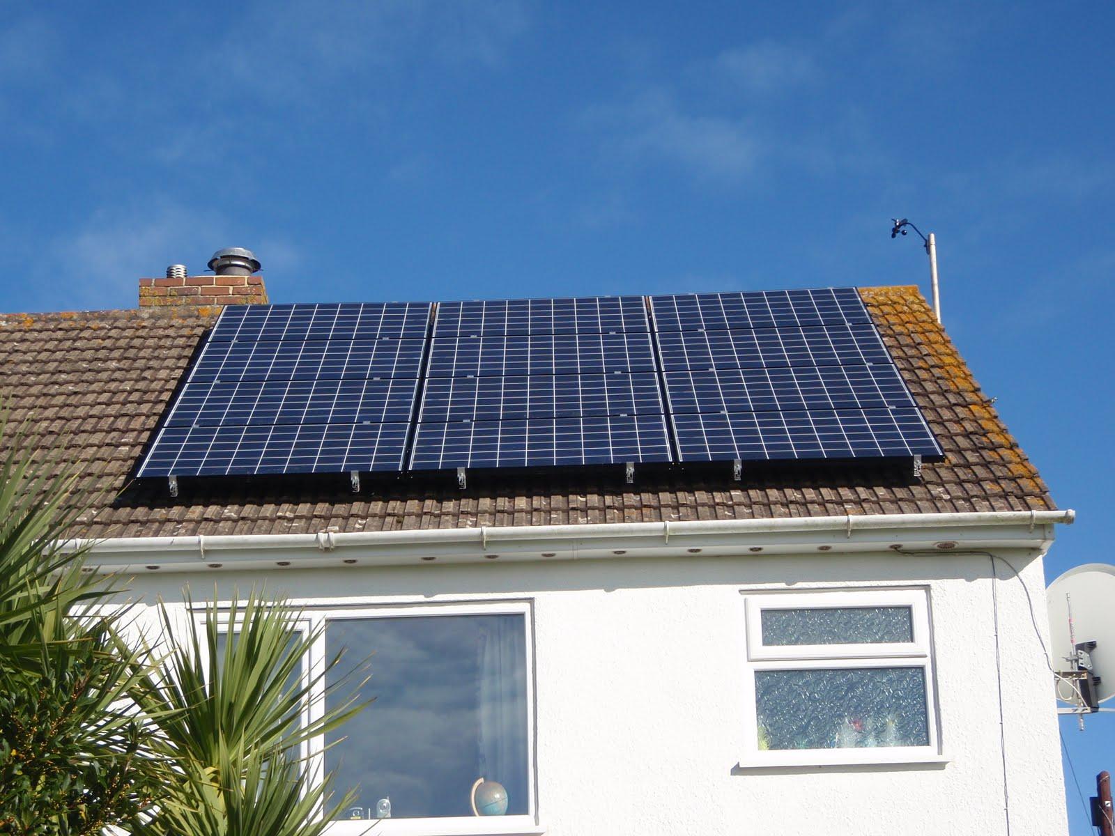 Zippy S Solar Blog Scaffolding Down Today
